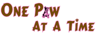 One Paw At A Time logo